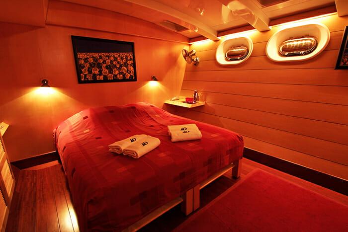 Douce France guest cabin