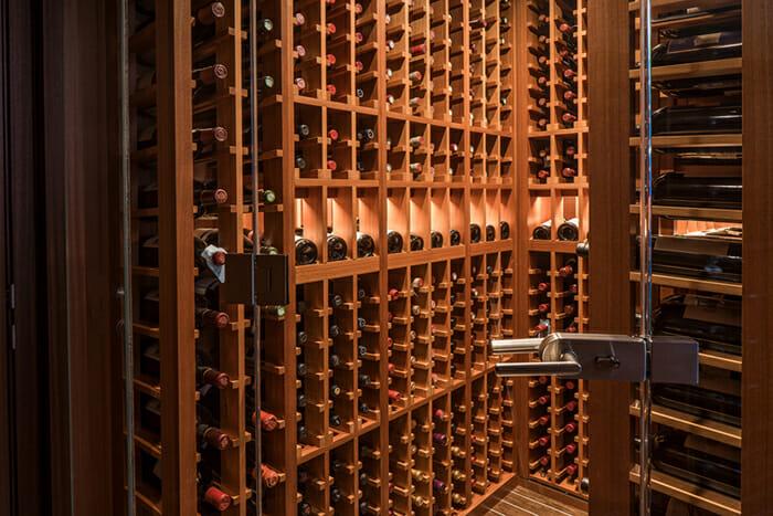 Endless Summer wine cellar