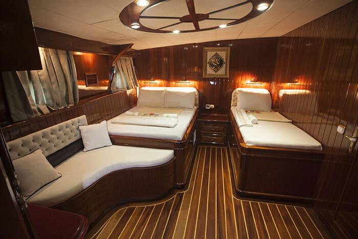 Esma Sultan double and single cabin