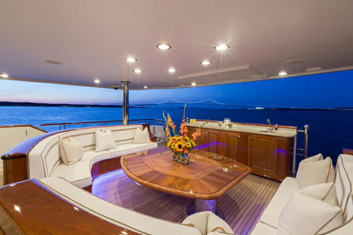 Far From It aft deck