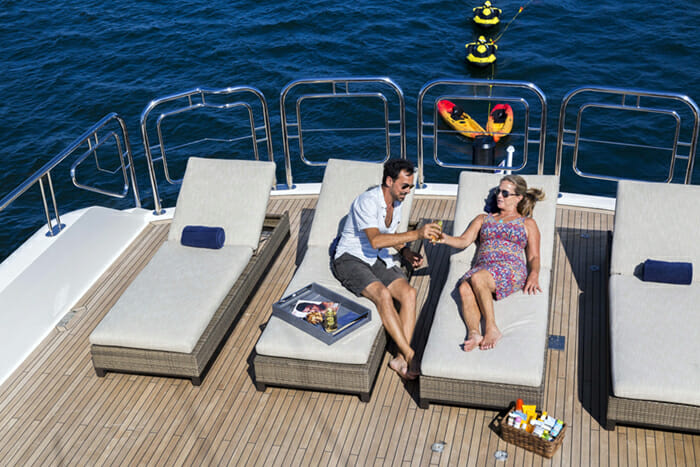 Far From It sundeck loungers