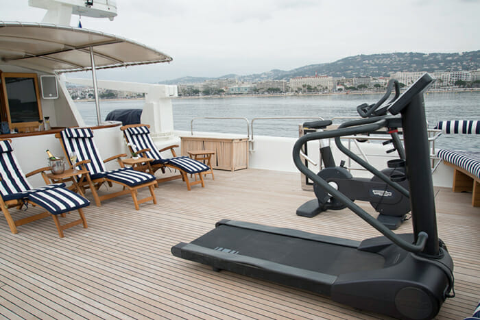 Fiorente sundeck gym equipment