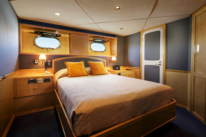 Flying Fish guest cabin