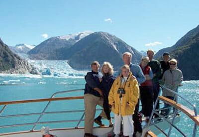Alaskan story charter guests