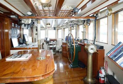 Pacific Yellowfin wheelhouse