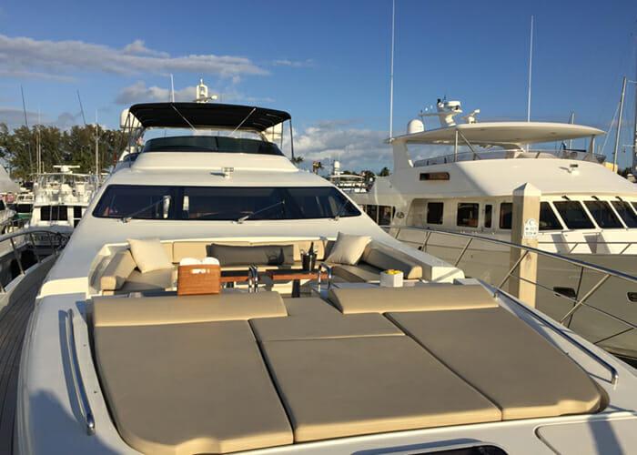 Intervention forward deck