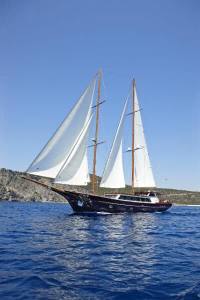 Iraklis L sailing