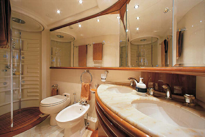 Iris master bathroom