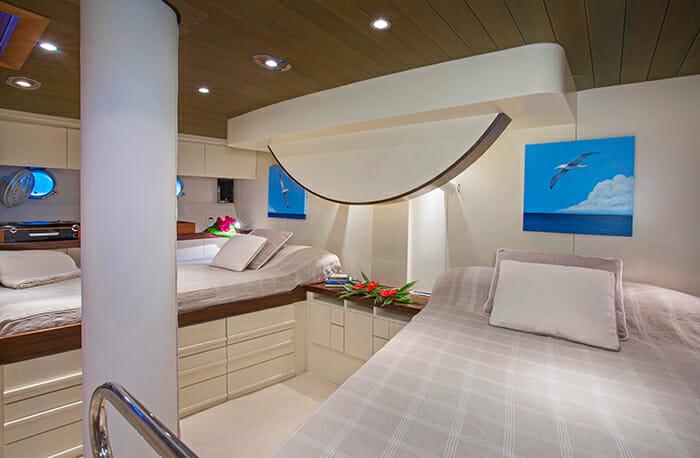 Jupiter twin cabin
