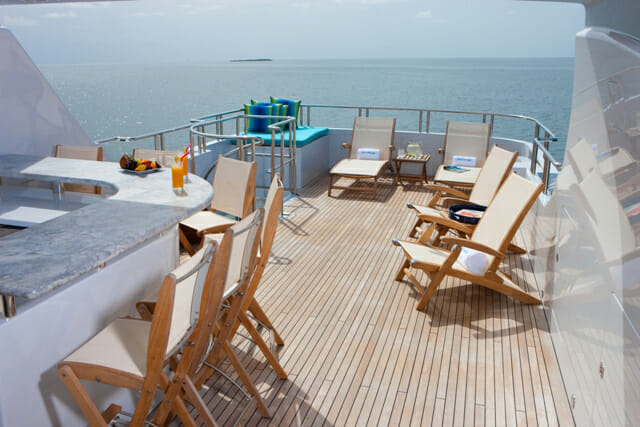 Just Enough sundeck