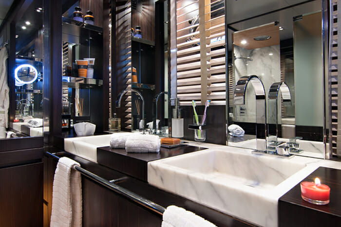 Kambos Blue master bathroom