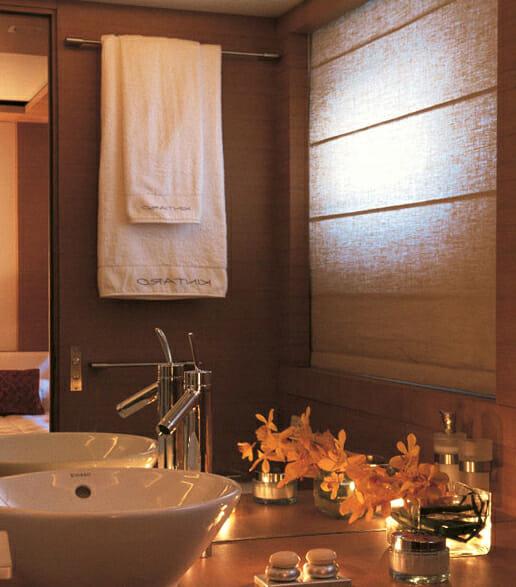 Kintaro guest bathroom