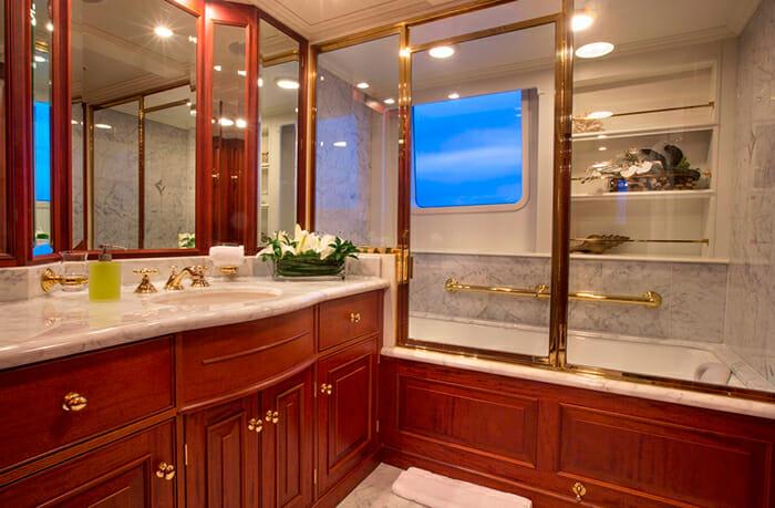 Lady J master bathroom