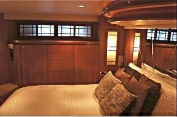 Lady Margaret master cabin