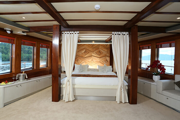 Lamima master cabin