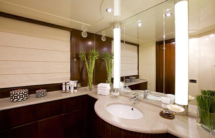 Let It Be twin bathroom