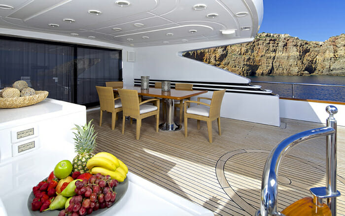 Let It Be upper deck dining