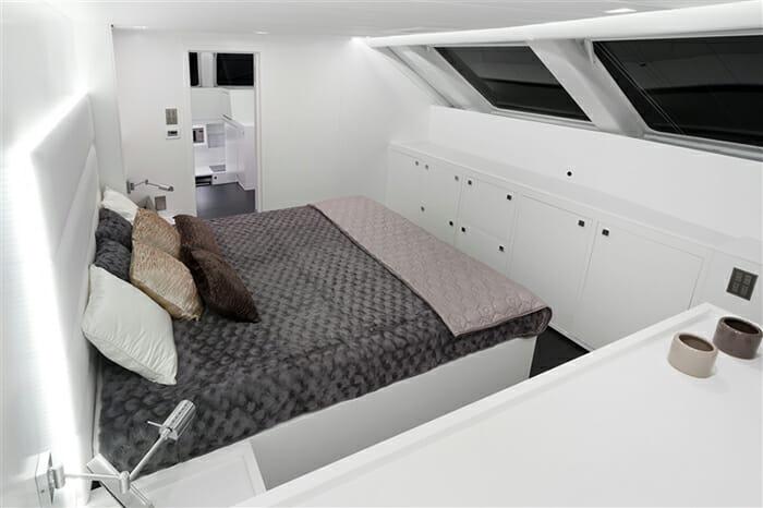 Levante master cabin