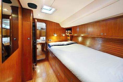 Lupa of London guest cabin