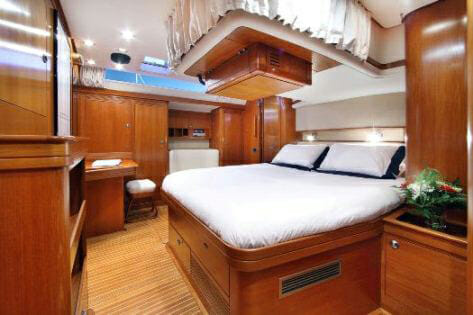 Lupa of London master cabin