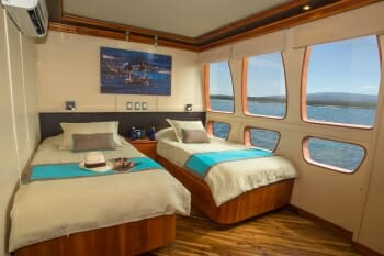 Majestic twin stateroom