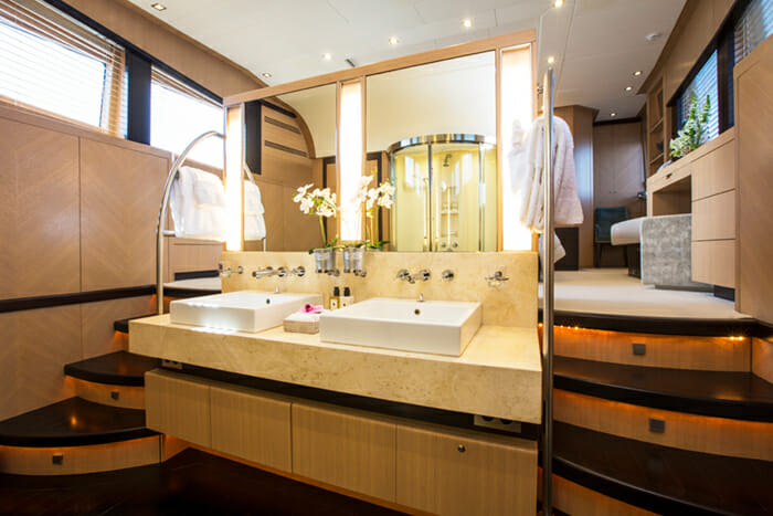 Midnight Sun master bathroom