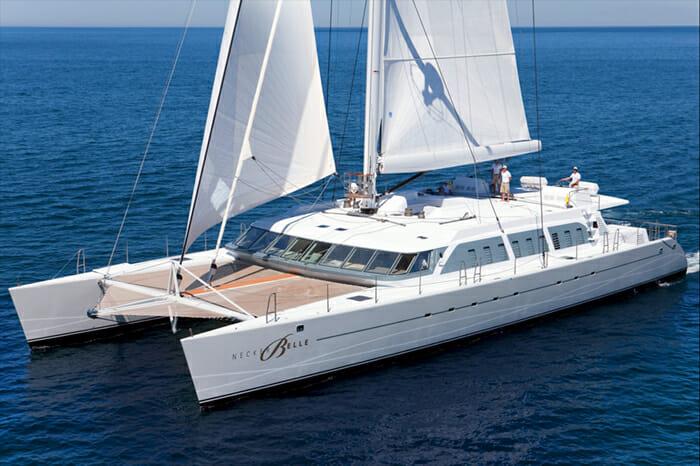 Neckerbelle catamaran