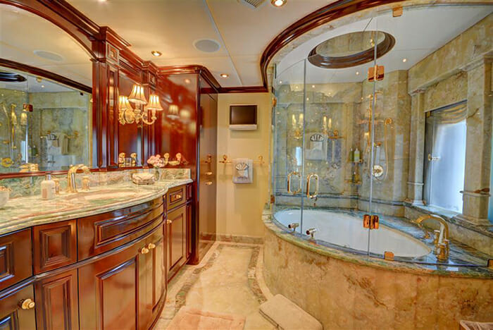 Never Enough master bathroom