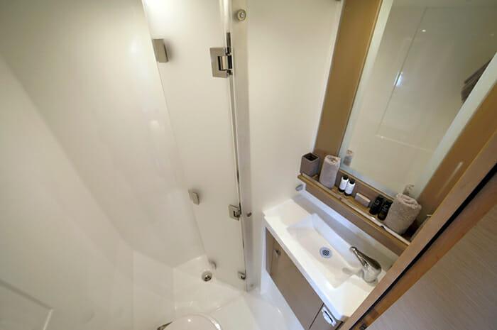 New Horizons II guest bathroom