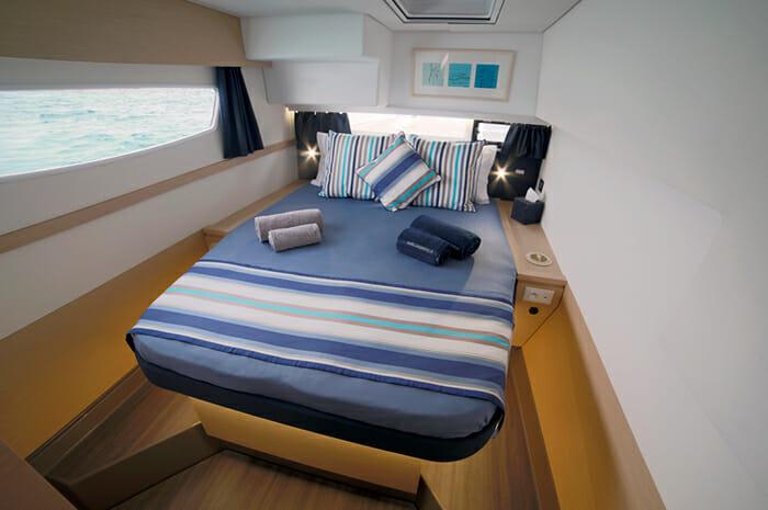 New Horizons II guest cabin