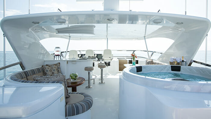 No Complaints flybridge