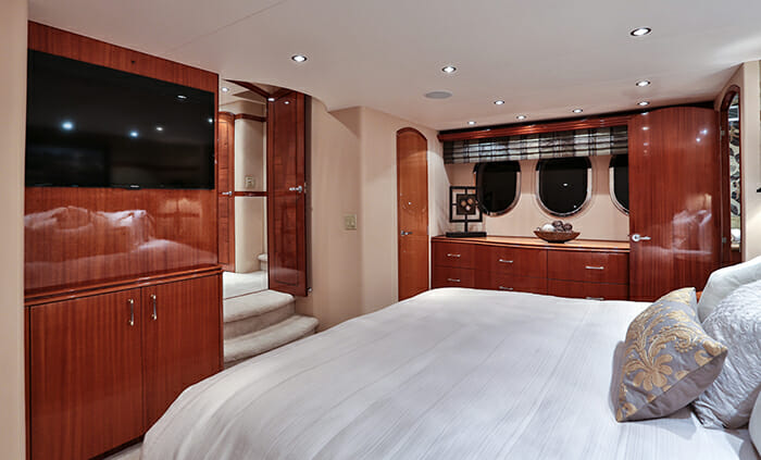 No Complaints master cabin