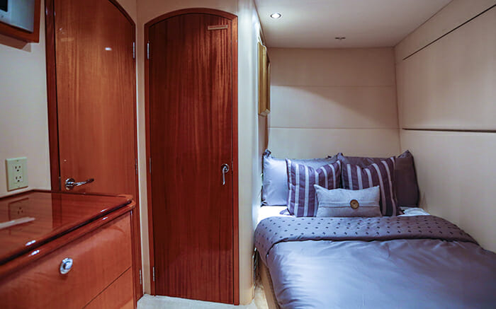 No Complaints starboard cabin