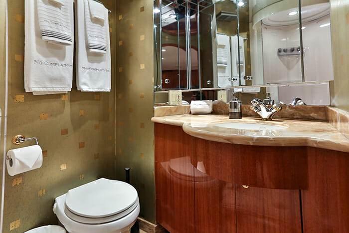No Complaints vip bathrom