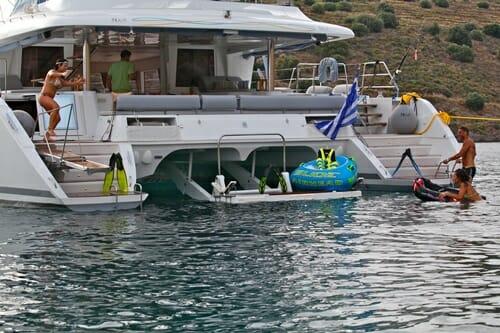 Nova at anchor