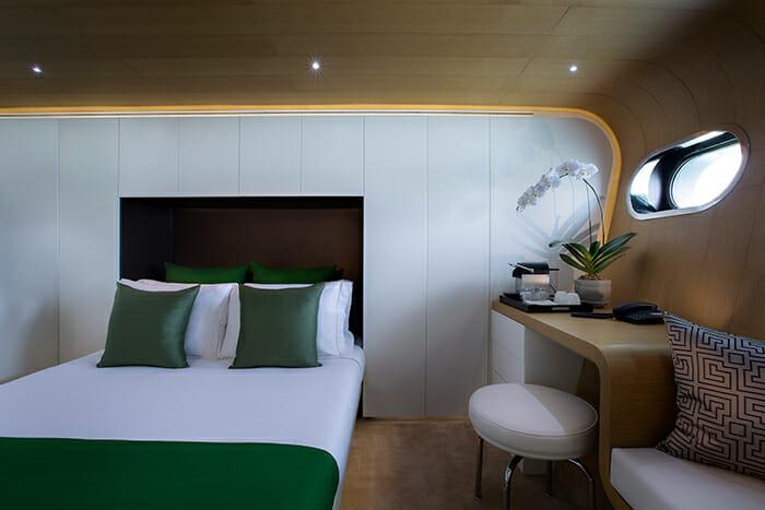 Ocean Emerald guest cabin