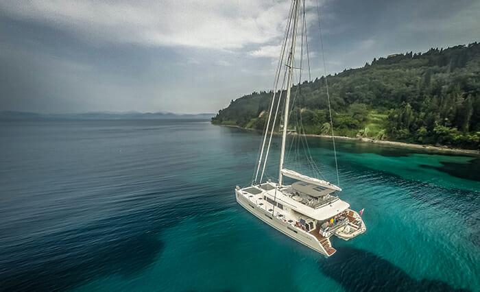 Ocean View at anchor