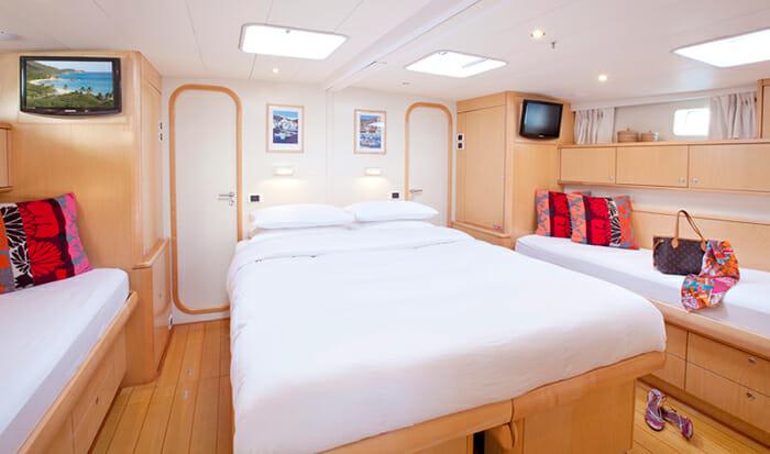 Oceans Seven 2 master cabin