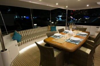 Ohana deck dining