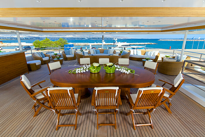 O'Mega upper deck dining