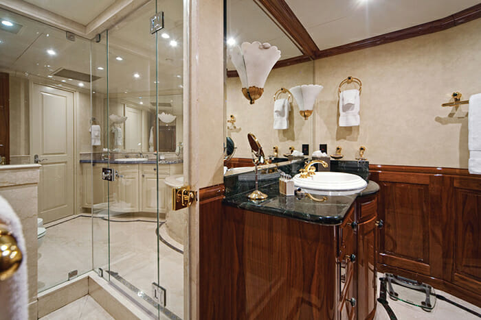 One More Toy master bathroom