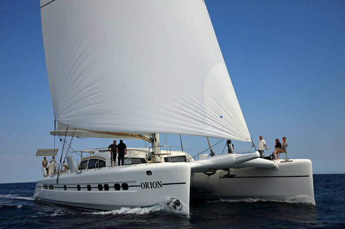 Orion sailing
