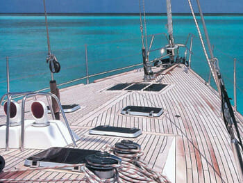 Pacific Wave deck