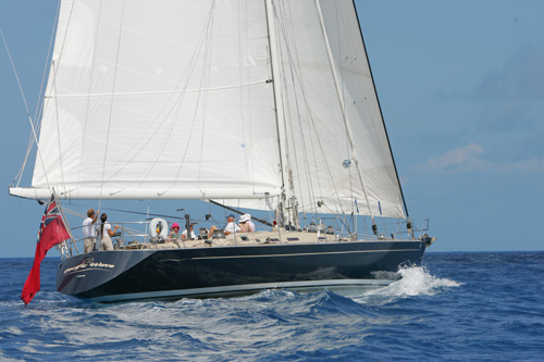 Yacht Pacific Wave