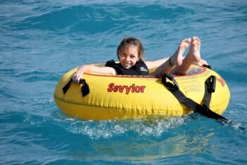 Pacific Wave tubing
