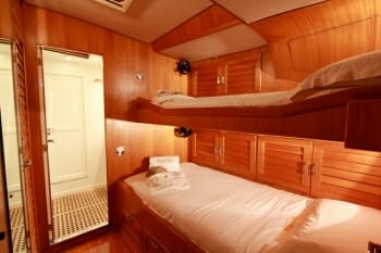 Pacific Wave twin cabin
