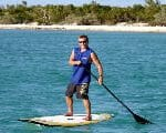 paddle-boarding in the BVI