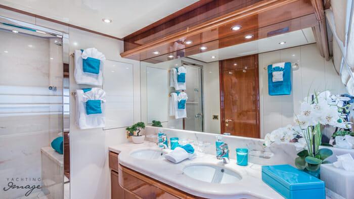 Paradise master bathroom