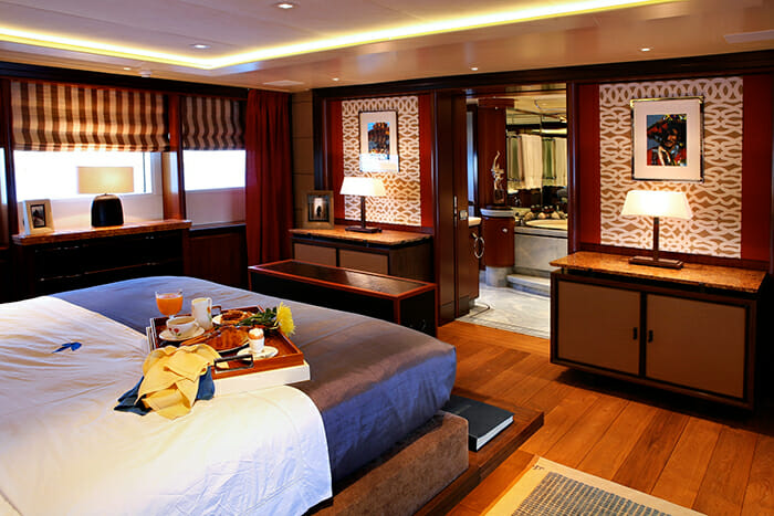 Pegasus master cabin