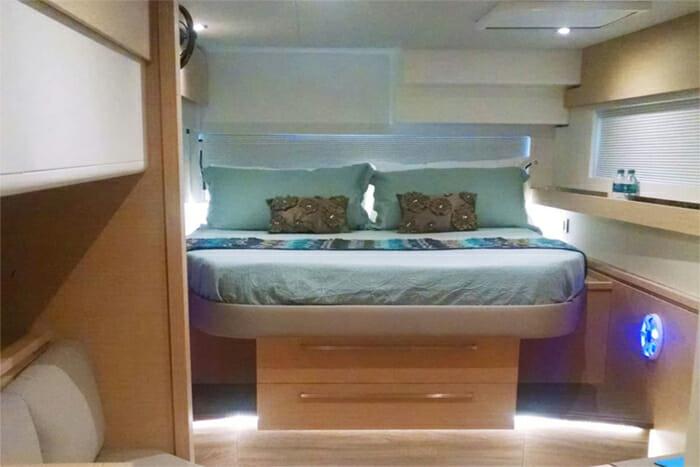 Port To Vino master cabin